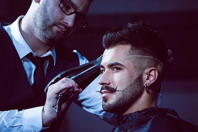 model kadeřníka