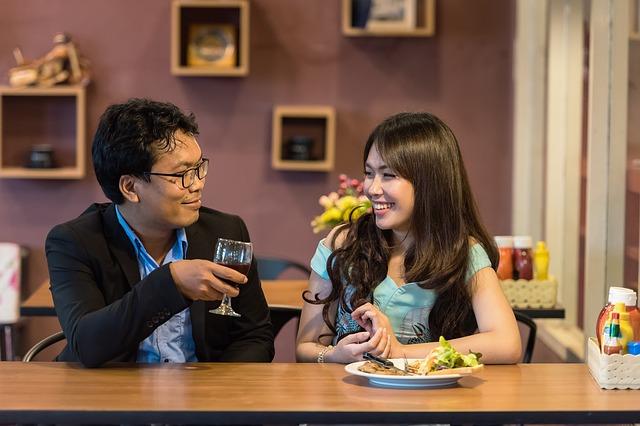 muž na rande se ženou
