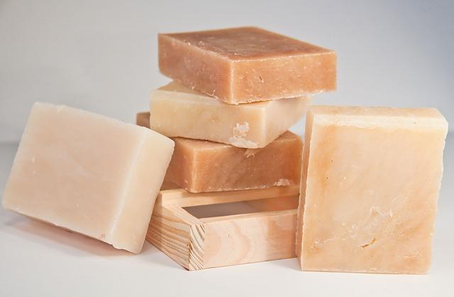 Ručně tvořené mýdla