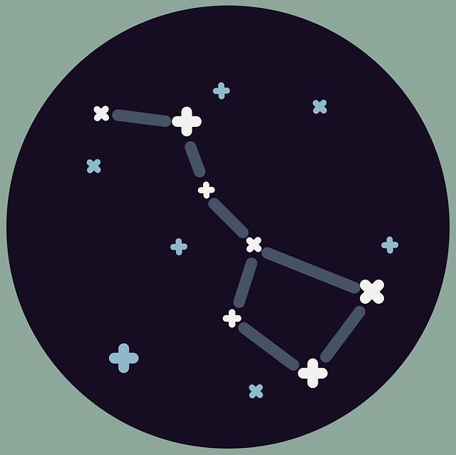 souhvězdí, nebe